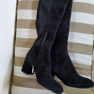 Sam Edelman Hai Knee-High Block-Heel Boots